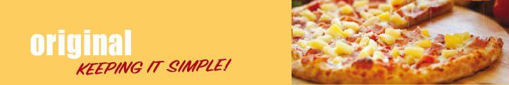 Original - Pizza Menu
