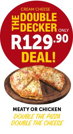 Windmill double decker Pizza deal